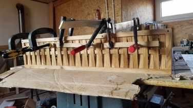 multe cleme pentru lemn