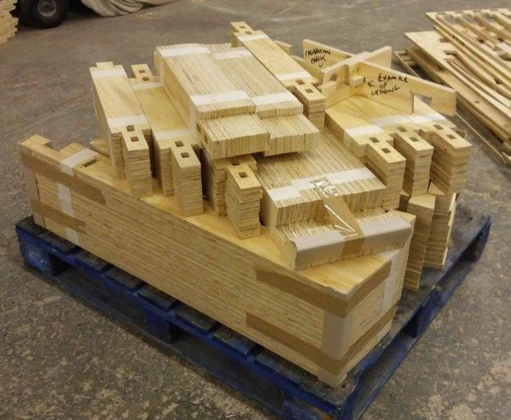 Kit de piese decupate pe CNC