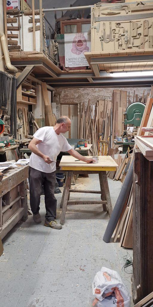 atelier de tamplarie din Florența