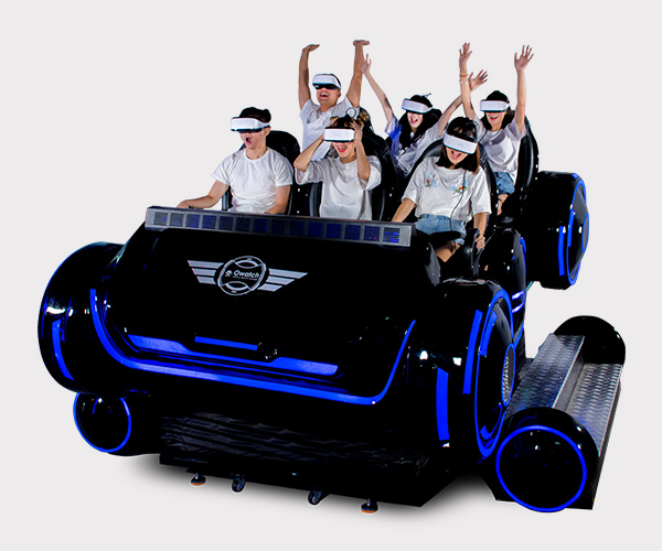 f77c6b5e5f4 6-dof Platform High quality Interactive 6 seats VR family 7d home cinema  with 6 seat 9d Virtual Reality
