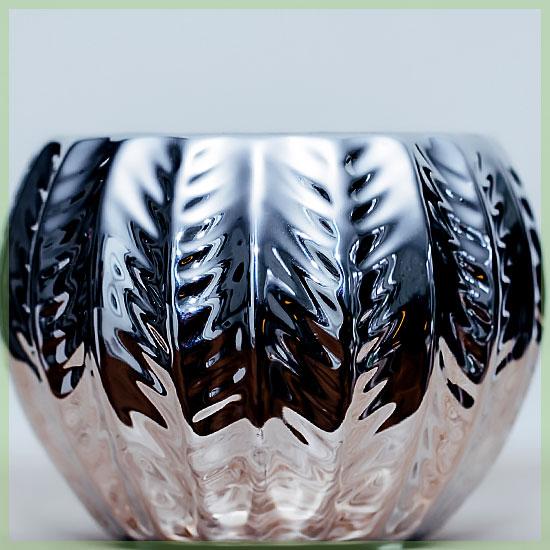 Retro silver wit sierpot potje 6cm
