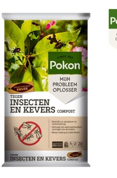 Tegen Insecten en Kevers Compost 20L kopen