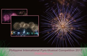 The 8th Philippine International Pyro-Musical Competition 2017 at MOA, Pasay City