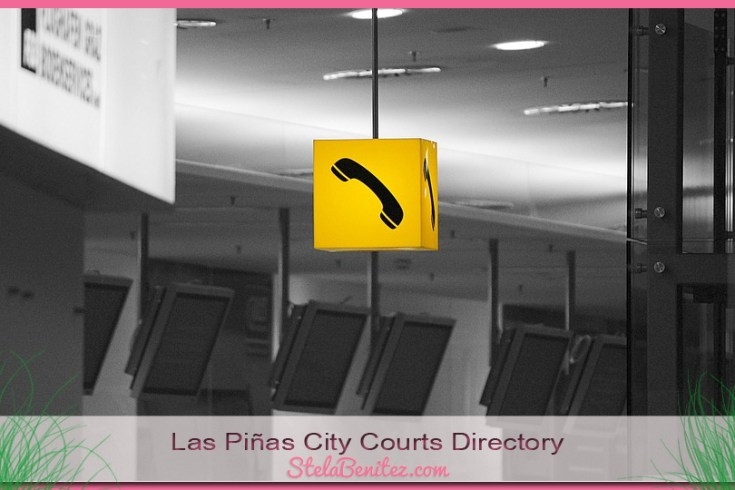 Las Piñas City Courts, PAO Contact Numbers and Directory