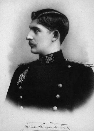 Image result for Prinţul Ferdinand de Hohenzollern,