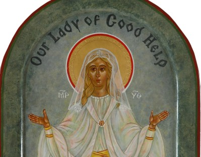 Our Lady of Good Help: The Challenge of Writing a New Roman Catholic Icon