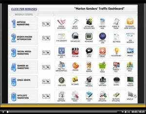 Marlon Sanders Traffic Dashboard Review