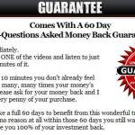 underground blogging secrets bonus-review-money back refund guarantee