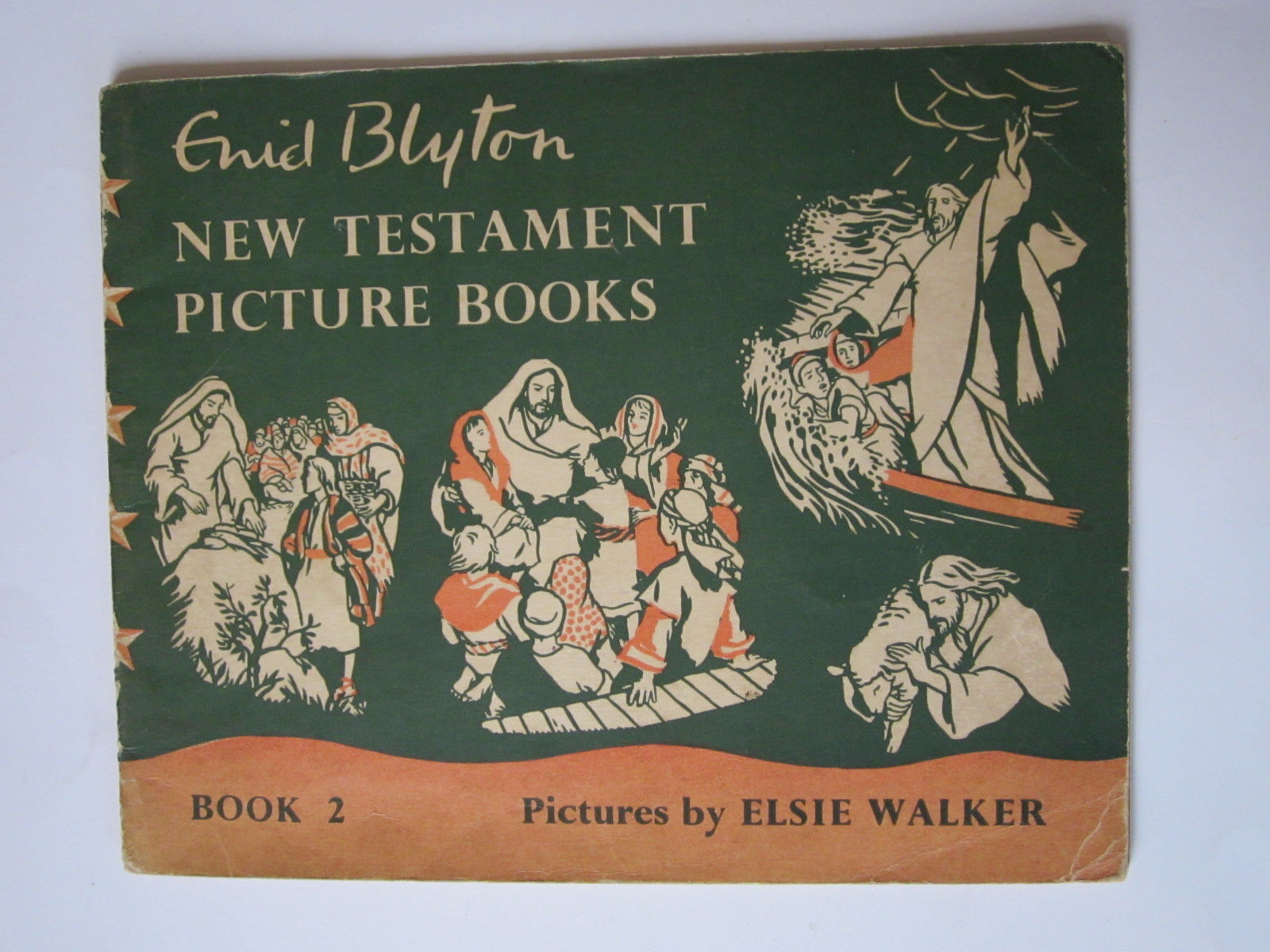 New Testament Bible Pictures Reference Book To Enid Blyton