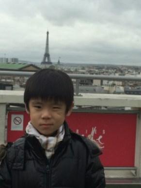 Mum!! I've got an Eiffel Tower growing out of my head!