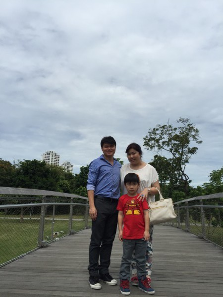 McDonald's at Bishan Park, a haven for the hungry on CNY Day 1. Also good for CNY family portraits.