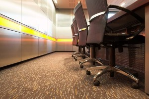 Business carpet tiles