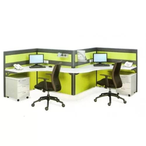 Office System Furniture Workstation 08 - 2