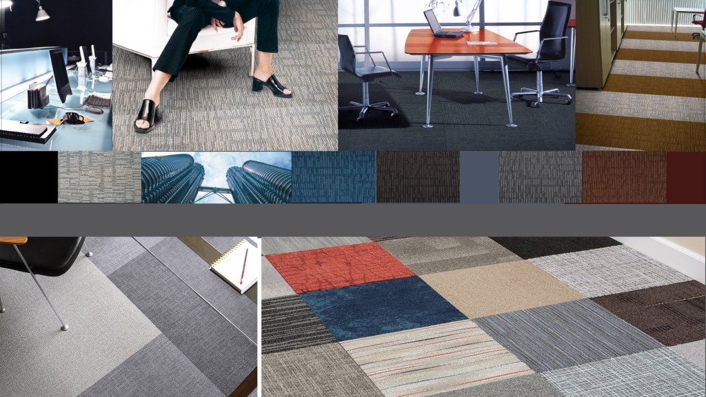 Commercial Carpet Tiles & Custom Design Carpet