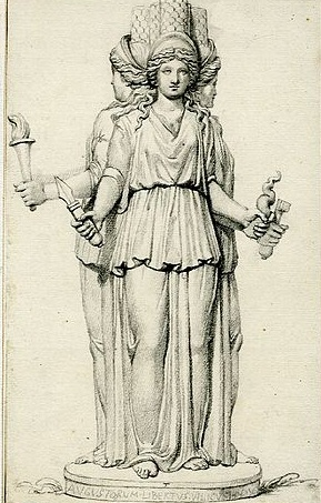 Hecate the Triple Goddess (British Museum)