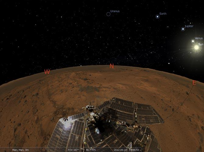 Viatjant a Mart
