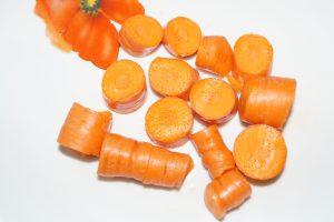 Eine Karotte