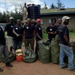 Porters waiting in line