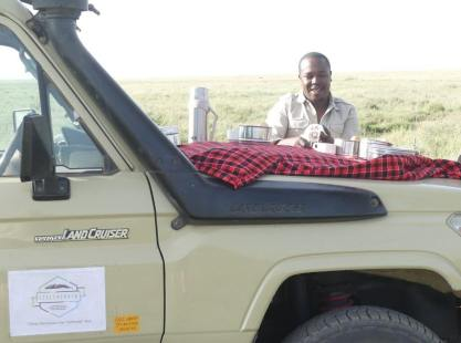 Simon doing Safari and Climb