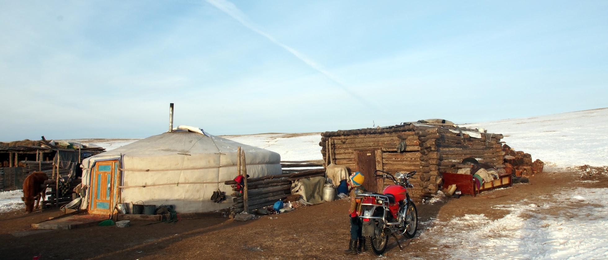 Een Spontaan Verblijf Bij Een Nomaden Familie