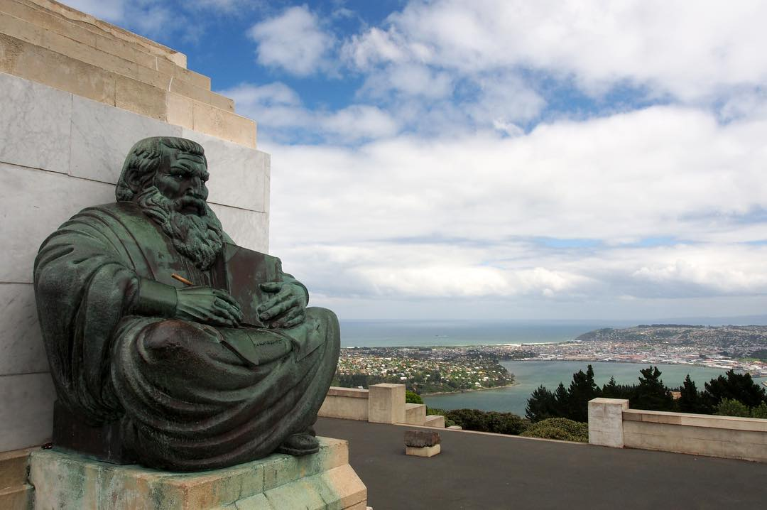 400. Looking out over Dunedin  |  Signal Hill, North Dunedin