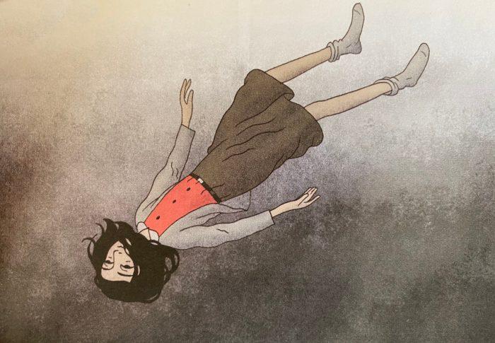 Anne Frank, illustration de David Polonsky