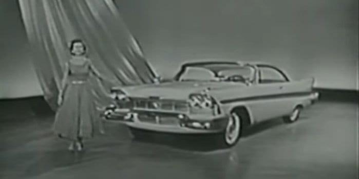 Betty White 1958 Plymouth