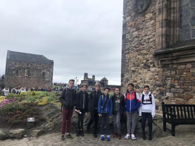 Visite du musée militaire du château d'Edimbourg