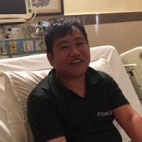 Mr Kipa Nakup Came to Delhi for Hip Osteoarthritis Stem Cell Treatment by Global Stem Cell Care.