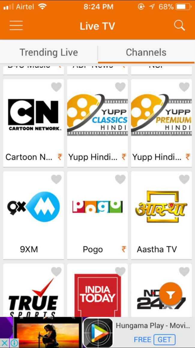 how to get free tv channels in india