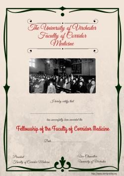 FCM certificate