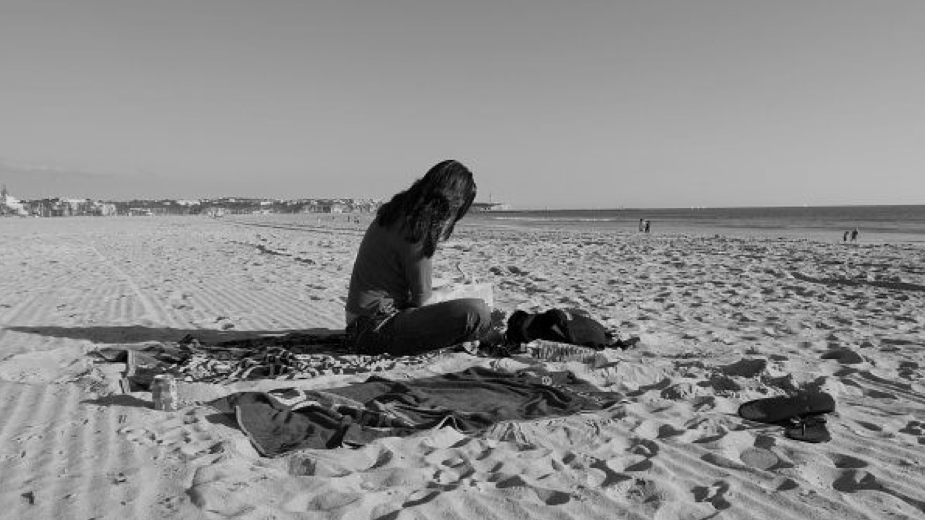 I might look like I'm learning alone in this picture (I'm revising for MCEM A, back in 2007, on a beach in Portugal) - but notice there's a second towel and a photographer. My revision group (especially my friend Dave Clarke) is the secret to my exam successes.