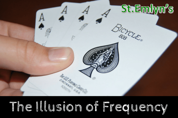 illusion of frequency stemlyns