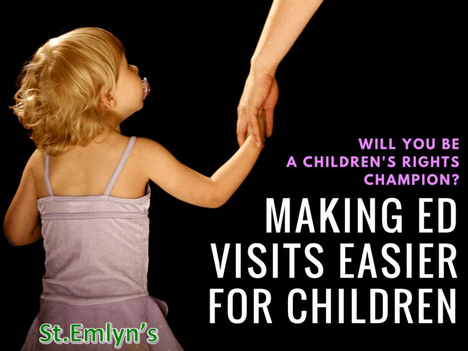 Making ED visits easier for children