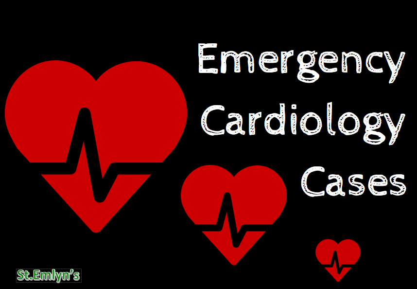 Emergency Cardiology cases stemlyns #FOAMed
