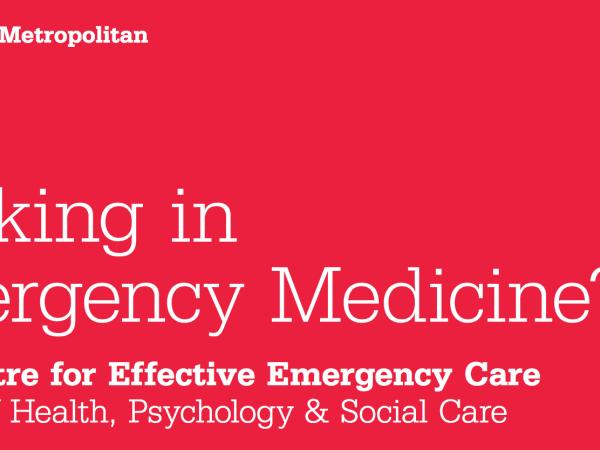 MSc in Emergency Medicine