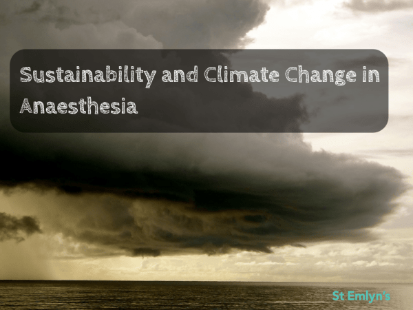 climate change in healthcare