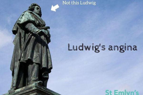Ludwig's angina St Emlyn's