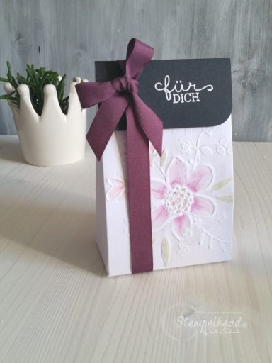 Stampin' Up! Geschenkverpackung Wunderblume in Feige