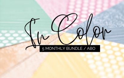 In Color Abo / In Color 5 monthly Bundle 2020 von Stampin' Up!