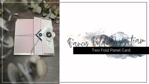 Fancy Fold-Two Fold Panel Card