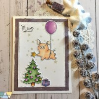 Weihnachts-Glücksbringer - Mama Elephant