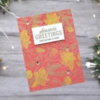 Eine kleine Weihnachtskarten-Serie - Hero Arts