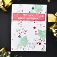 Die Weihnachtskarten-Serie Teil 2