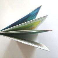 DIY: Heft aus einem A3-Blatt