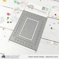 mama elephant - fancy door frame