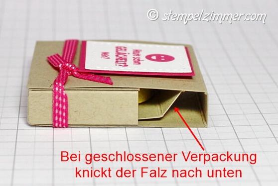 Anleitung Smiley-Ziehverpackung- Stampin Up