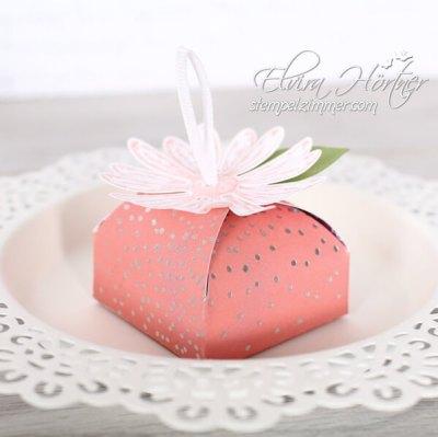 Verpackung mit dem Gänseblümchen-Daisy Punch-Stampin Up