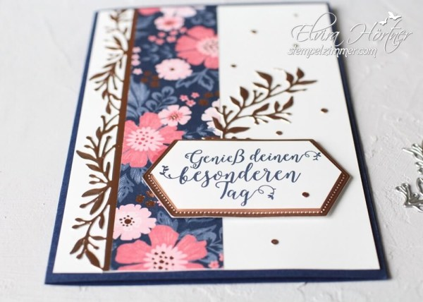 Everything is rosy-stampin up