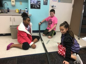 learning about motion through bumper coasters